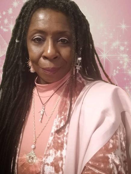 Queen Mother Imakhu pink glitter rose di