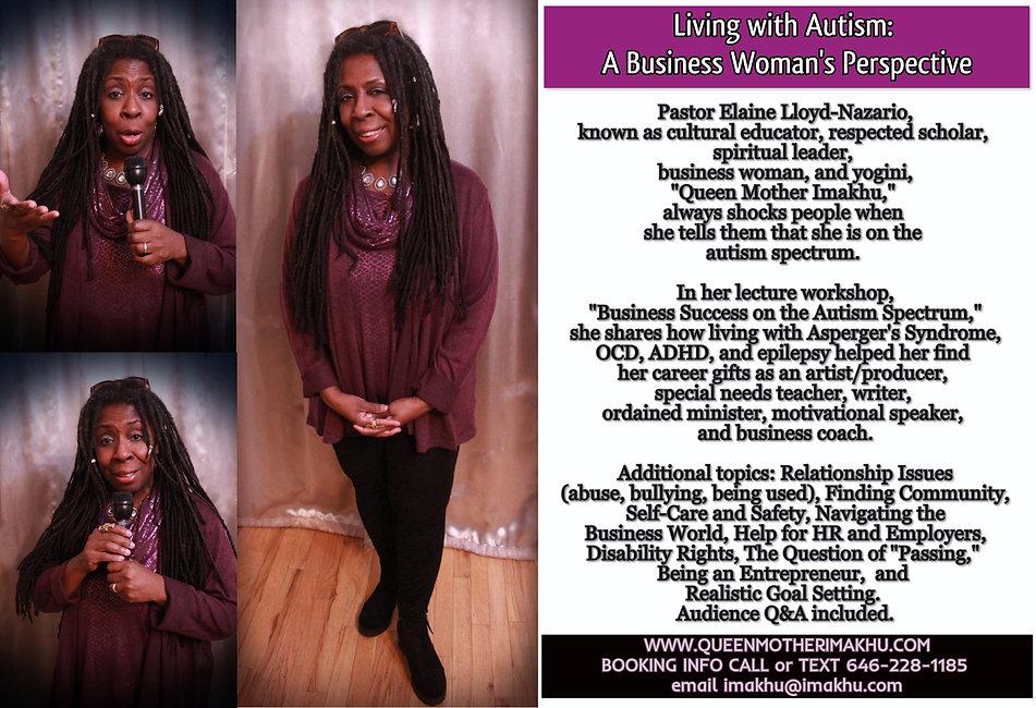 Living with Autism_Elaine Lloyd-Nazario
