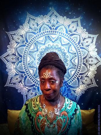 Queen Mother Imakhu new snow mandala upd