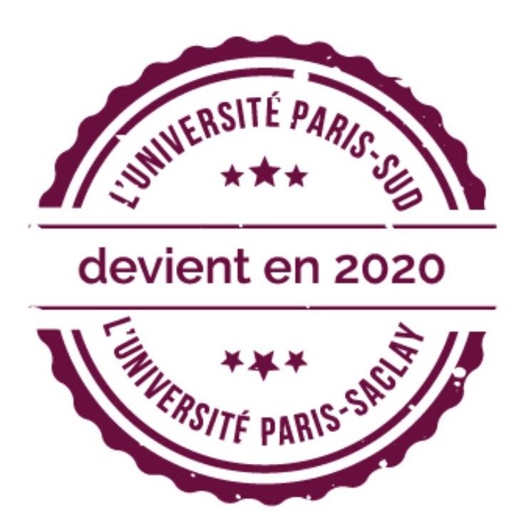 Au 1er janvier 2020, l'Université Paris-Sud devient Université Paris-Saclay