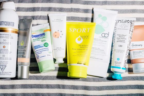 The Best Scoring Sunscreens