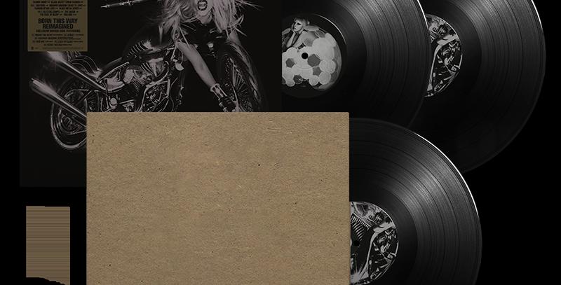 Lady Gaga - 3x LP Born This Way 10th Anniversary
