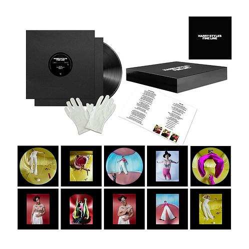Harry Styles - Box Set Fine Line - 1 Year Anniversary Edição Limitada