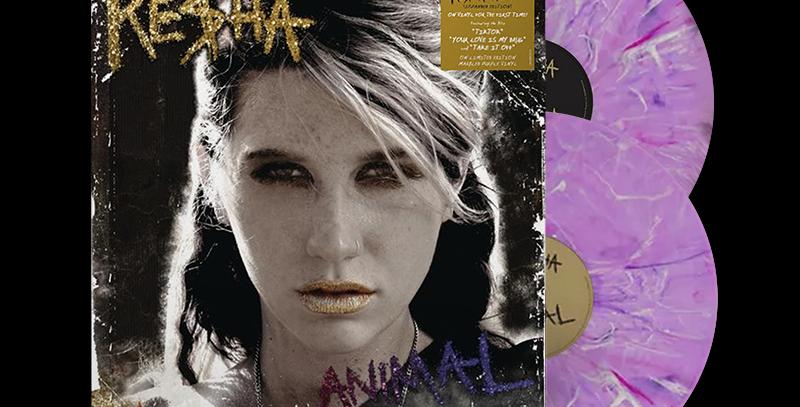 Kesha - 2x LP Anmal (Expanded Edition) Roxo Limitado