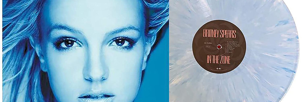 Britney Spears - LP In The Zone Azul Limitado [AVARIA]
