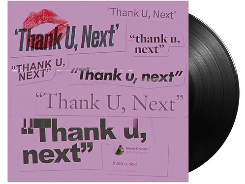 Ariana Grande - Thank U, Next LP Single Limitado Raro