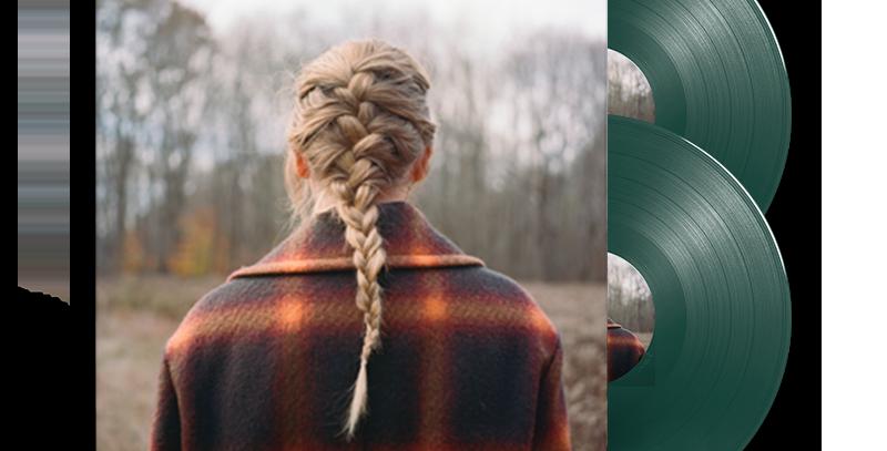 Taylor Swift - 2x LP Evermore Album Deluxe Edition
