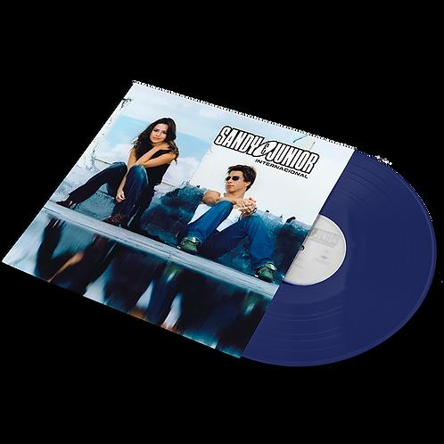 Sandy e Junior - 2x LP Internacional Azul Translúcido Limitado