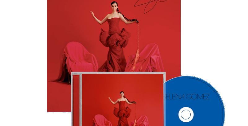 Selena Gomez - CD Revelación + Art Card Autografado