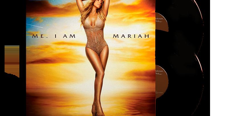 Mariah Carey - 2x LP Me. I Am Mariah... The Elusive Chanteuse Preto