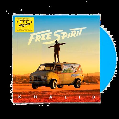 Khalid - Free Spirit 2x LP Azul Limitado