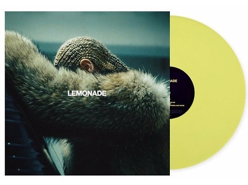 Beyoncé - 2x Lemonade Limitado Amarelo