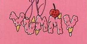 Justin Bieber - LP Autografado Yummy x Drew House