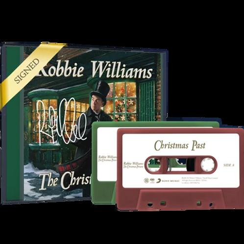 Robbie Williams - 2x CD Autografado & 2x Cassette The Christmas Present