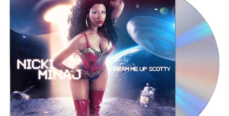 Nicki Minaj - CD Beam Me Up Scotty