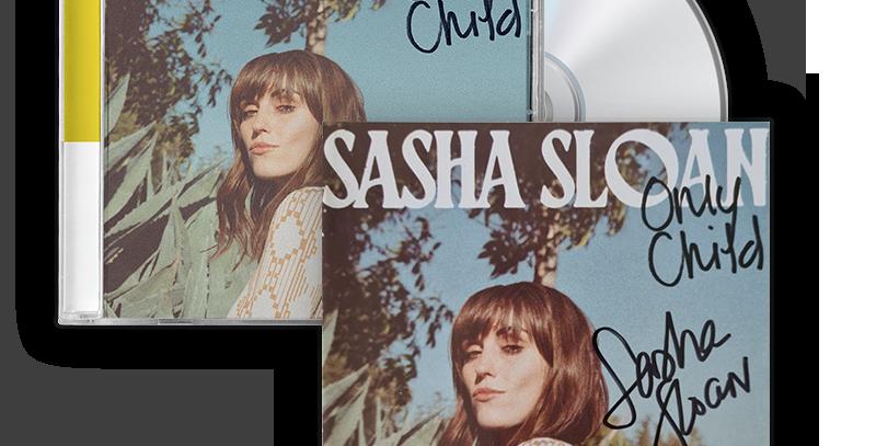 Sasha Sloan - CD Autografado Only Child