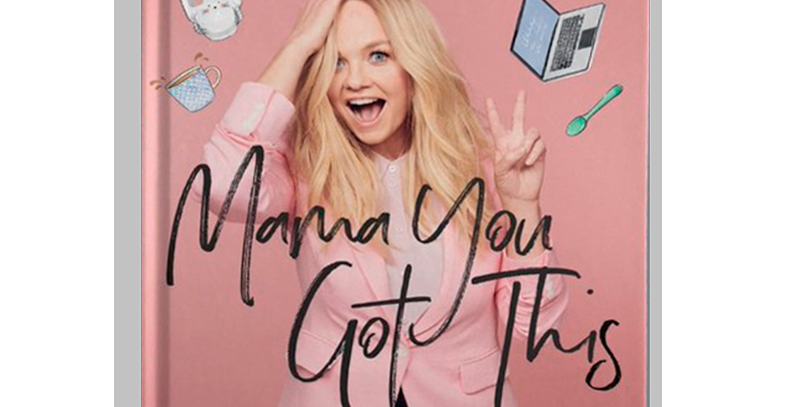 Emma Bunton - LIvro Autografado Mama You Got This Hardcover
