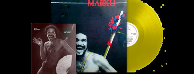 Marku - LP Marku Limitado Noize Azul + Revista
