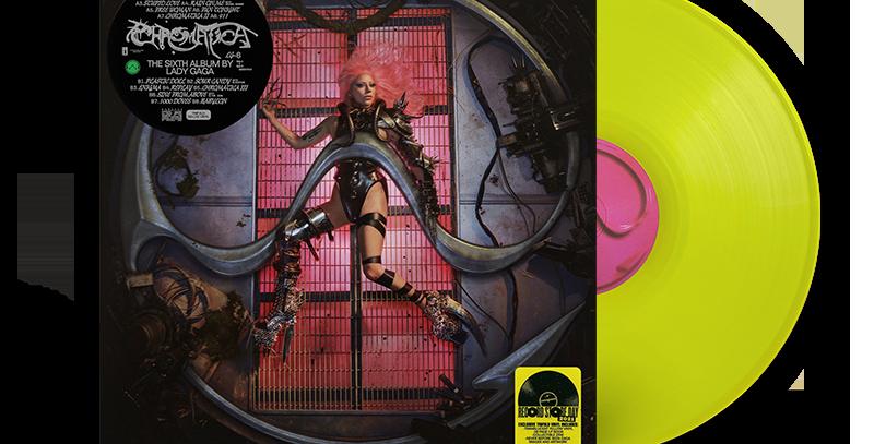 Lady Gaga - LP Chromatica Trifold Amarelo RSD 2021