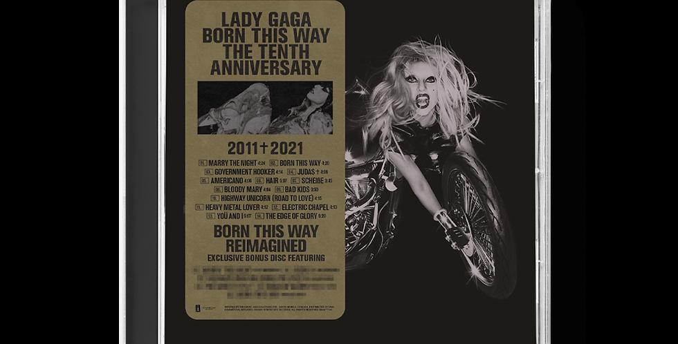 Lady Gaga - 2x CD Born This Way The Tenth Anniversary Limitado