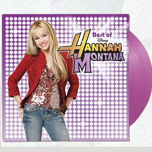 Hannah Montana - Best Of Hannah Montana LP Limitado Roxo [AVARIA]