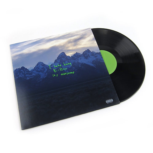 Kanye West - I hate being bipolar it's awesome LP