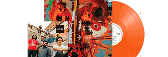 Bixiga 70 - LP Quebra-Cabeça Limitado Noize Laranja + Revista