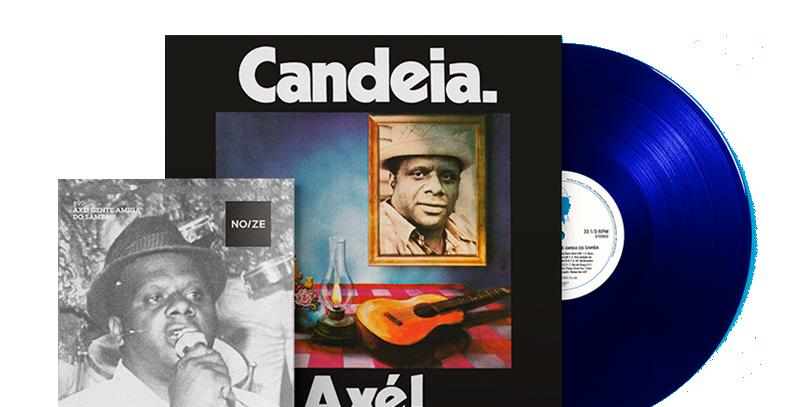 Candeia - LP Axé Limitado Noize Azul + Revista