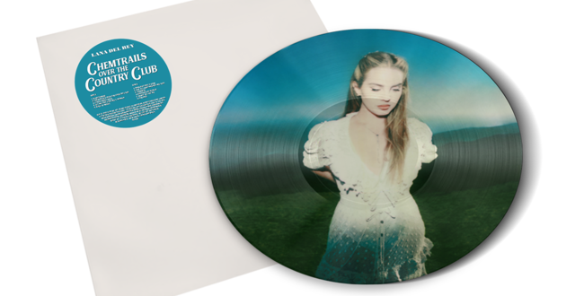 Lana Del Rey - LP Chemtrails Over the Country Club Pictura Disc Limitado