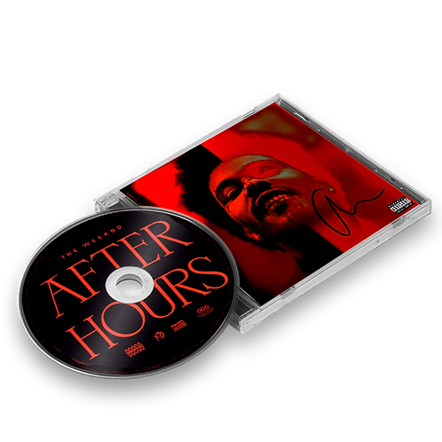 The Weeknd - CD Autografado After Hours Deluxe