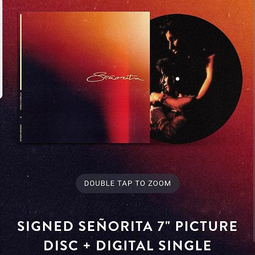 """Camila Cabello & Shawn Mendes - Senorita 7"""" LP Picture Disc Autografado"""