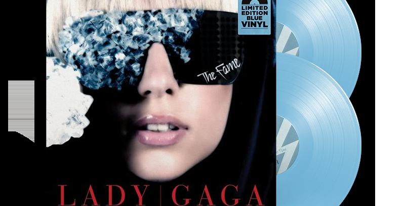 Lady Gaga - 2x LP The Fame Azul Claro [AVARIA]