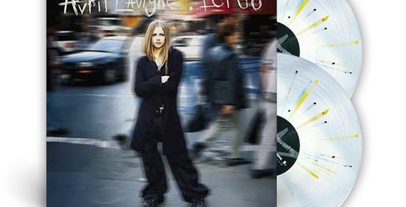 Avril Lavigne - 2x LP Colorido Let Go [AVARIA]