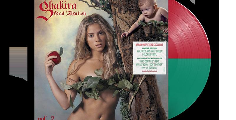 Shakira - 2x LP Oral Fixation Vol. 2 Colorido Limitado