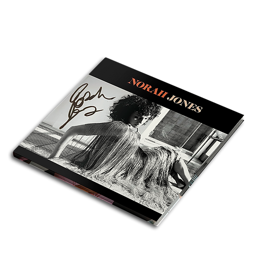 Norah Jones - CD Autografado Pick Me Off The Floor