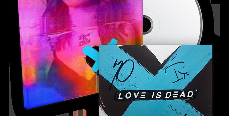 CHVRCHES - CD Autografado Love Is Dead