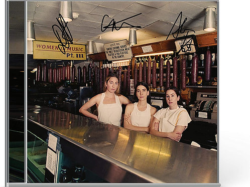 HAIM - CD Autografado Women In Music Pt. III