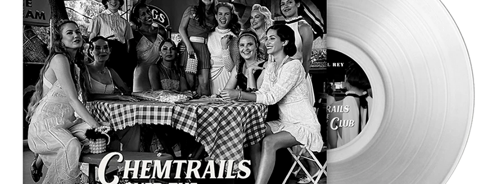 Lana Del Rey - LP Transparente Chemtrails Over the Country Club Limitado