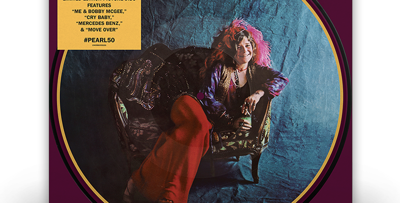 Janis Joplin - LP Pearl (Picture Disc) RSD 2021
