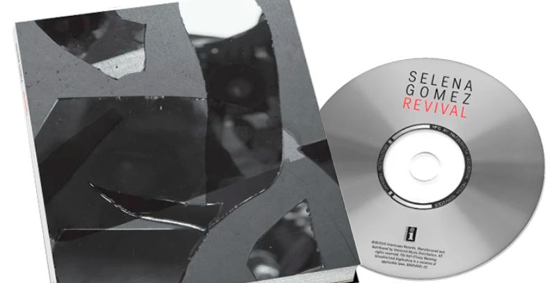 Selena Gomez - CD Revival Deluxe + Journal Limitado