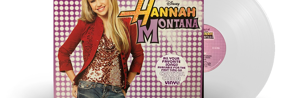 Hannah Montana - LP Best Of Hannah Montana Limitado Transparente Miley Cyrus
