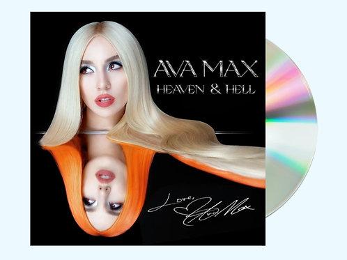 Ava Max - CD Autografado Heaven and Hell