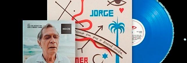 Jorge Mautner - LP Não Há Abismo Em Que o Brasil Não Caiba Noize + Revista