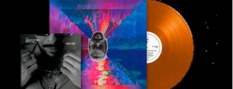Black Alien - LP Abaixo de Zero: Hello Hell Limitado Noize Laranja + Revista