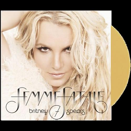 Britney Spears - LP Femme Fatale Dourado Limitado