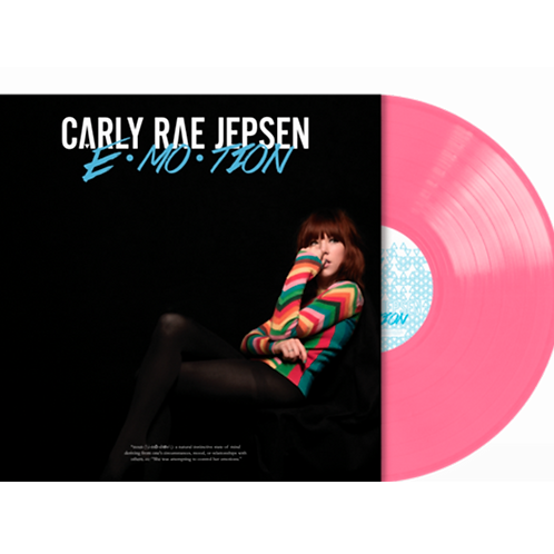 Carly Rae Jepsen - LP Rosa EMOTION - 5th Anniversary Limitado