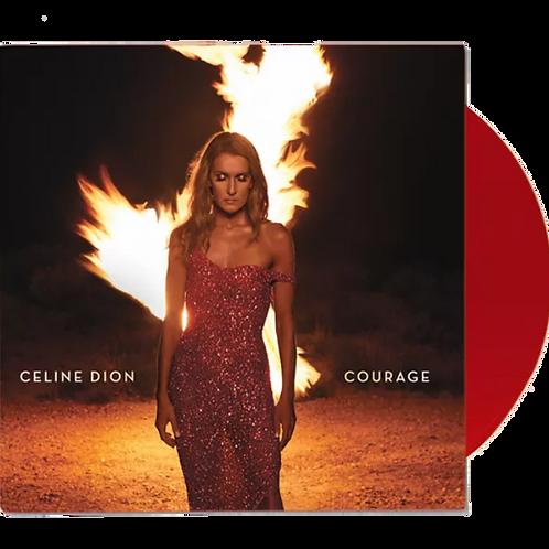 Celine Dion - Courage 2x LP Vermelho