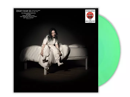 Billie Eilish - WHEN WE ALL FALL ASLEEP...? LP Target Glow