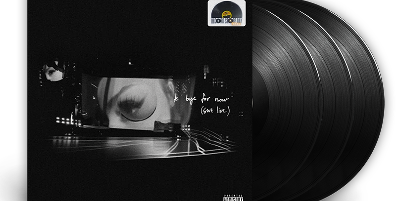 Ariana Grande - 3x LP k bye for now (swt live) RSD 2021