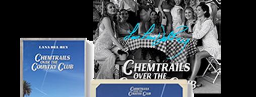 Lana Del Rey - Cassete Chemtrails Over the Country Club #3+ ArtCard Autografado